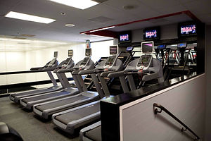American Kickboxing Association Cardio Room Treadmills