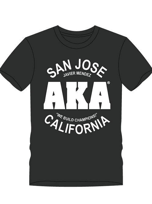 AKA San Jose Men's Black T-Shirt
