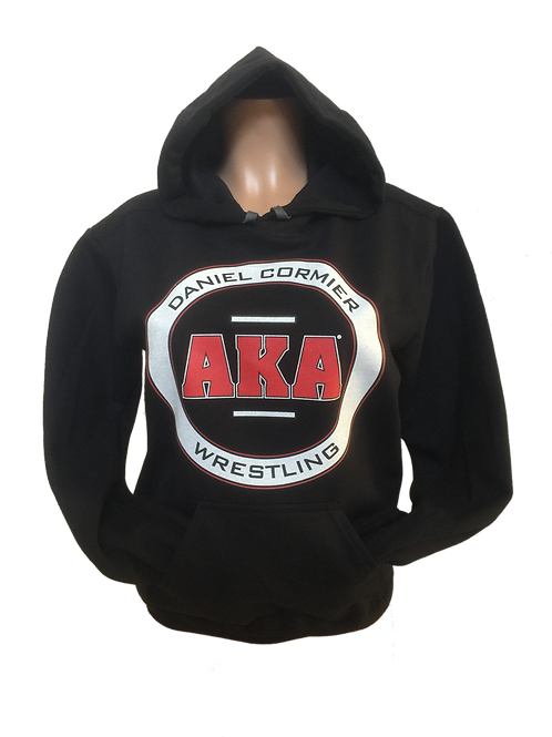Unisex ADULT & YOUTH Daniel Cormier-AKA Wrestling Black Hoodie