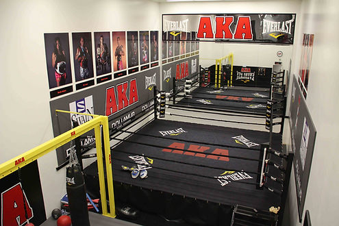 American Kickboxing Association Boxing Ring Room