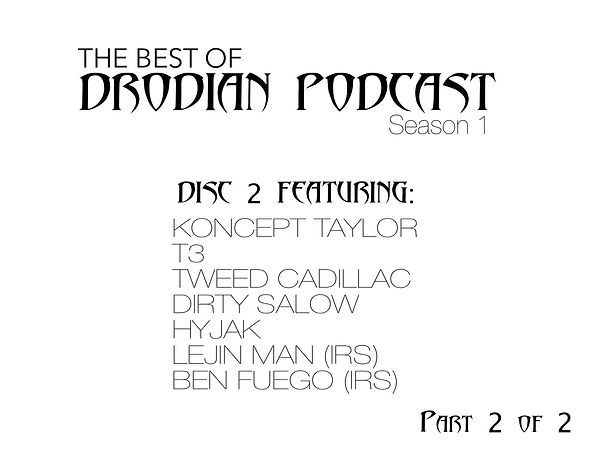 DRODIAN PODCAST SEASON 1 DISC 2