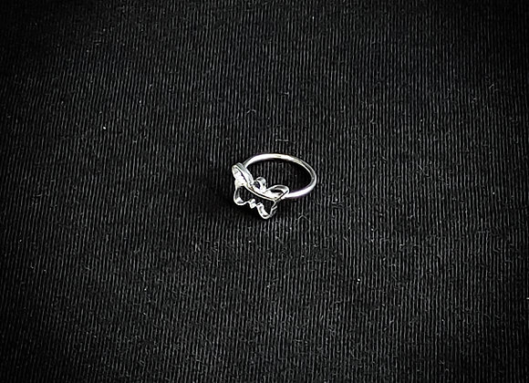 Anel anelar borboleta