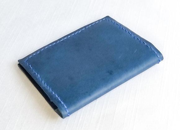 Porta Cartão Pocket  azul