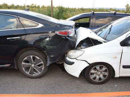 תאונת חזית באחור - מחיקת כתב אישום