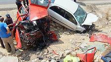 תאונת דרכים קטלנית חזיתית עקב סטיית כלי רכב