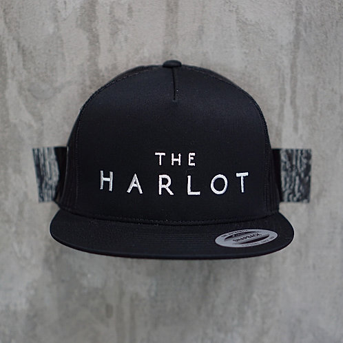 The H A R L O T Flat Billed Hat