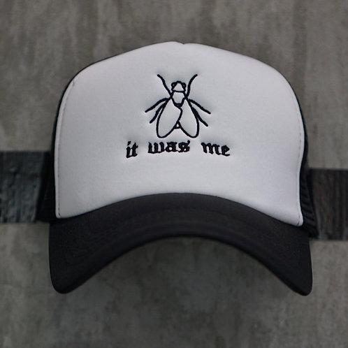 It Was Me Fly Trucker Hat White