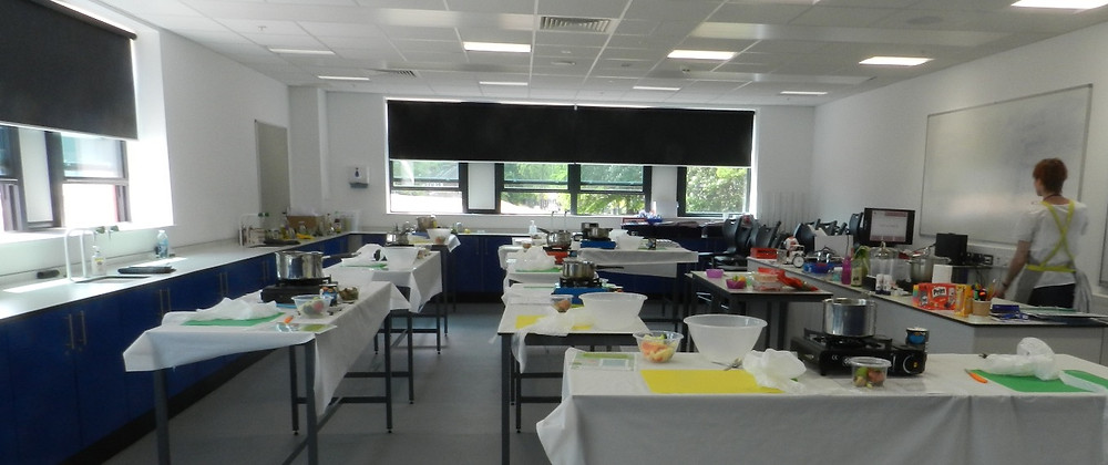 cookery classes popping up in a science lab