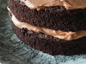 For the love of chocolate cake (and it's gluten free)