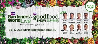 Popping up at BBC Good Food Show Summer and Gardener's World Live 2018