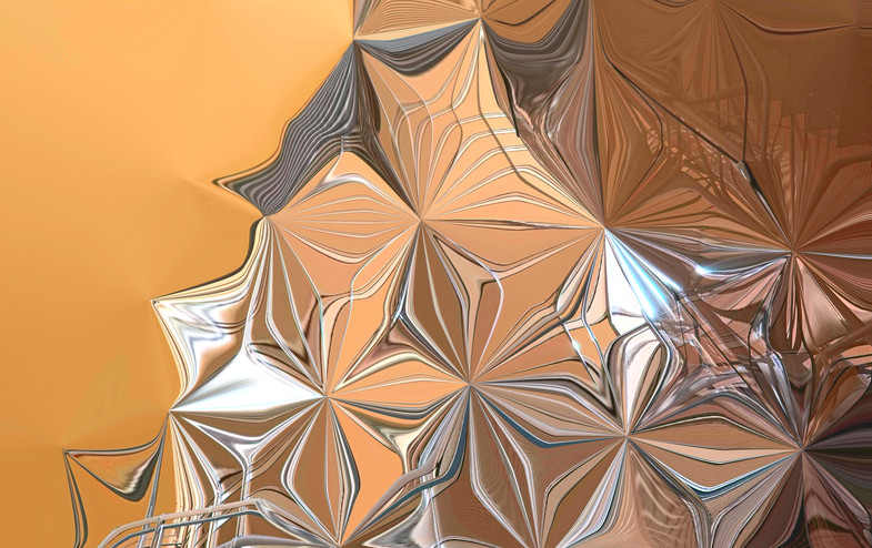 BurjKhalifa Abstract by Andrew J Bannister copyright 2020