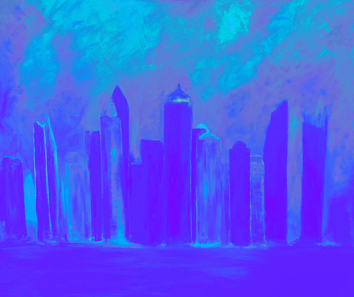 Princess Tower in Blue