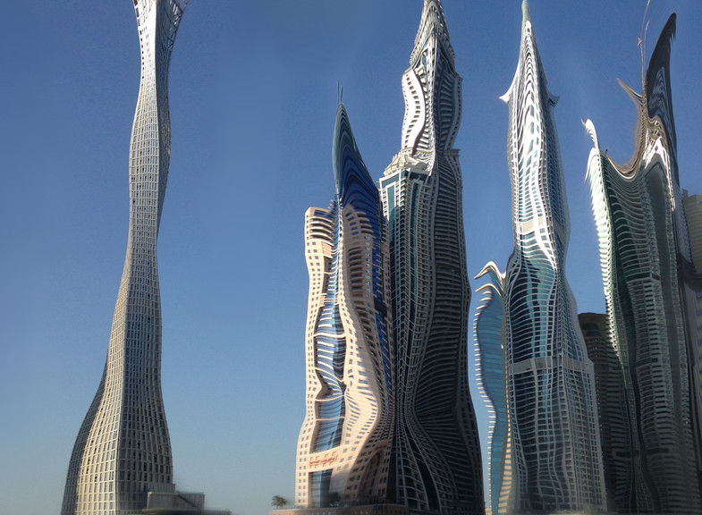 Twisted Towers