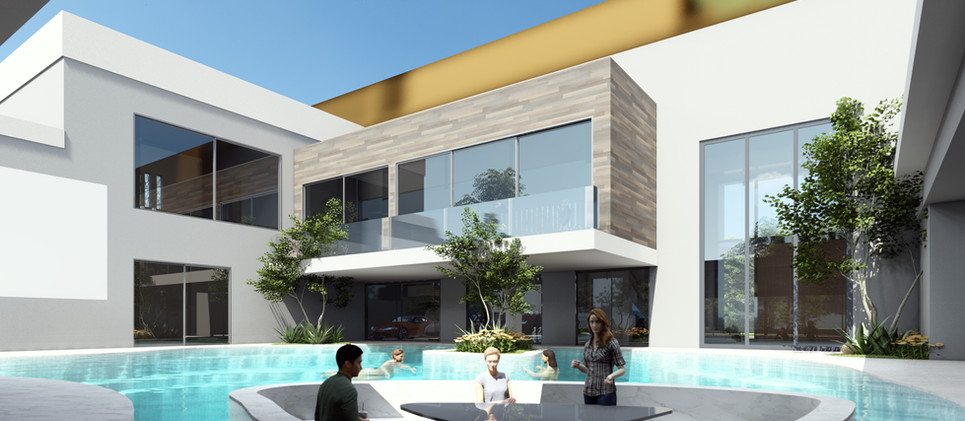 POOLSIDE-VIEW villa 2021