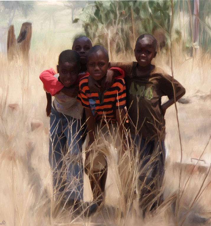 Zambia boys
