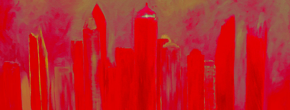 Princess Tower in red