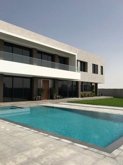 Pool and Villa by ABD
