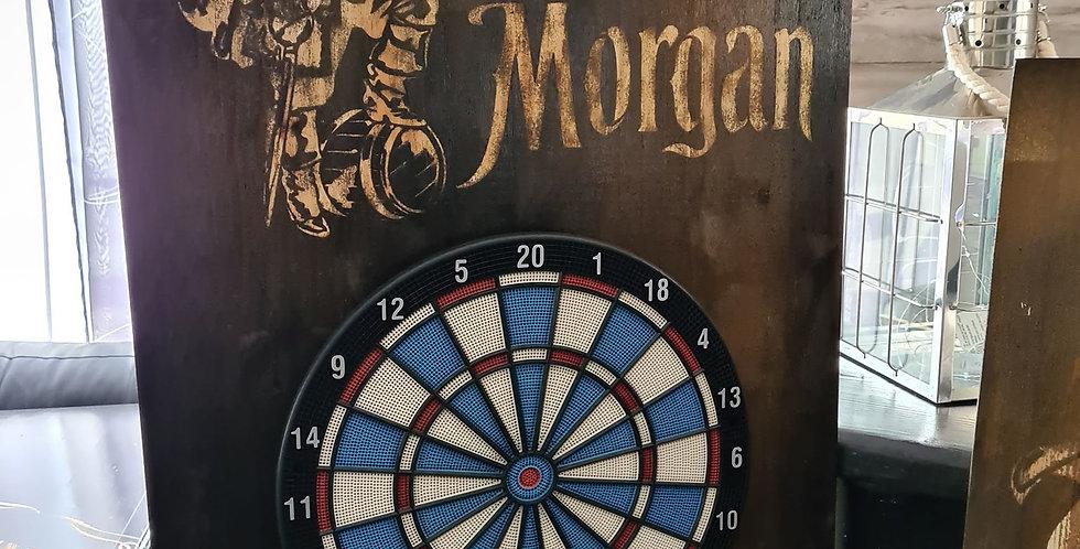 Stand de fléchette gravé Captain Morgan