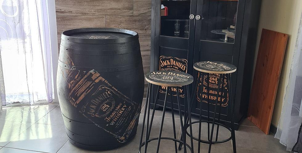 Tabouret Jack Daniels