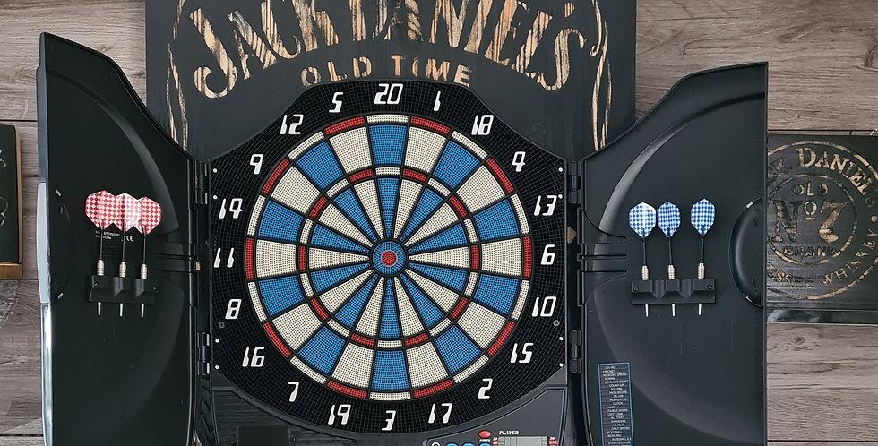 Stand de fléchette fermé  gravé Jack Daniel's