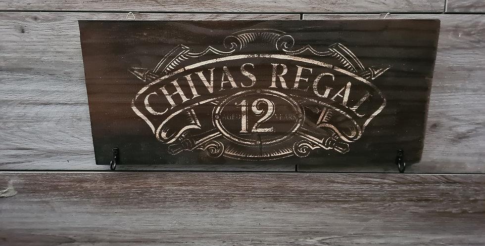 Accroche clé gravé Chivas Regal