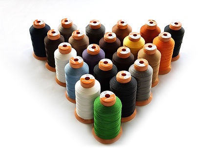 3-Ply Internally bonded thread designed to meet your sewing needs for denim, quilting, upholstery, canvas, vinyl, leather and marine products. No exterior coating means it will not create any chaffe or damage your sewing machine. Extremely strong and durable, sleek and easy to use. Practically unbreakable with bare hands.