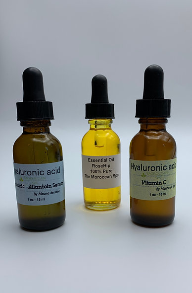 Hyaluronic Acid - Duo + Rosehip Oil