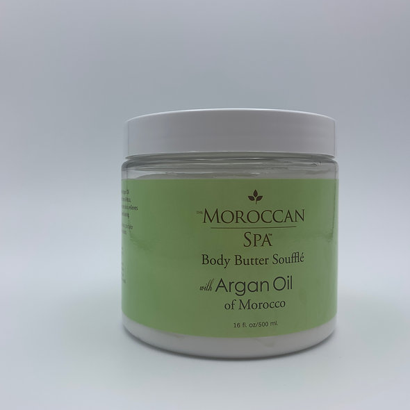Body Butter Soufle With Pure Argan Oil