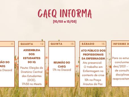 CAEQ Informa [10/05 – 14/05]