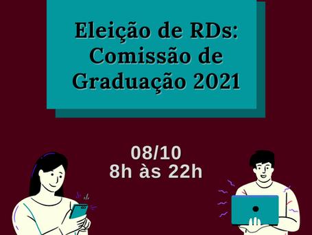 Eleição para RD's da Comissão de Graduação - Tutorial
