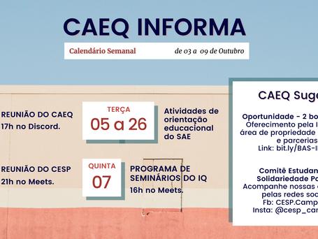 CAEQ Informa [03/10 - 09/10]
