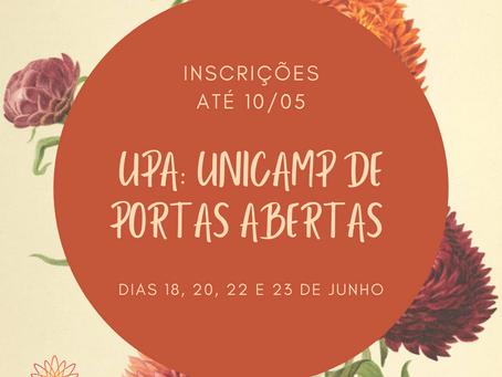 Inscrições - Unicamp de Portas Abertas