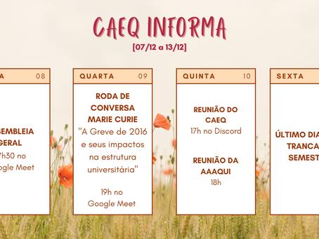 [07/12 - 12/12] CAEQ Informa