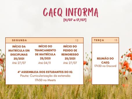 CAEQ Informa [11/07 - 17/07]