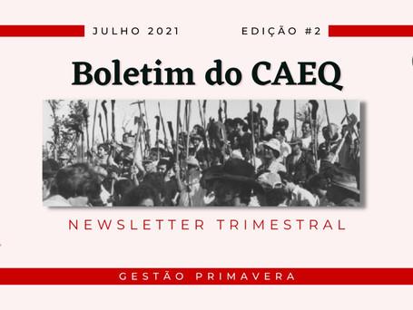 Boletim do CAEQ - 2ª edição