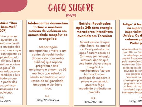 CAEQ Sugere - 06/11