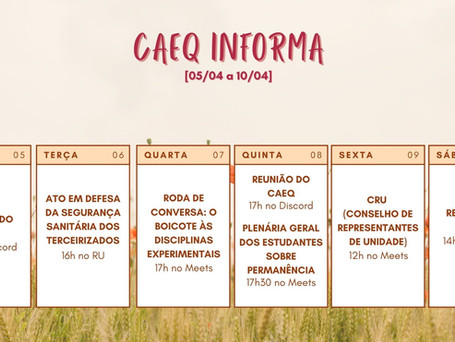 [05/04 – 11/04] CAEQ Informa