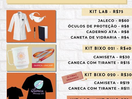 Vendinha - Kit Bixo e Kit Lab