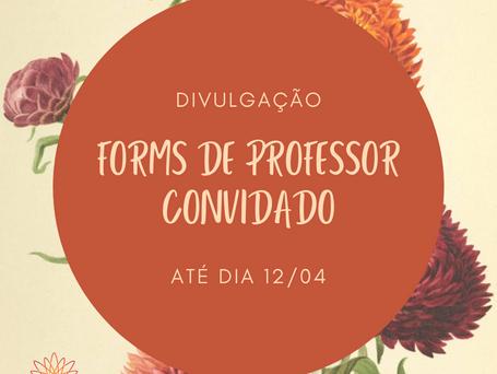 Consulta de Professor Convidado