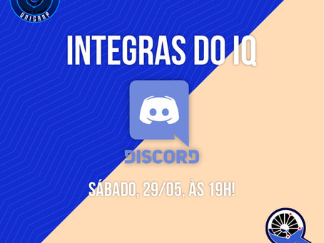 Integras do IQ - Discord CAEQ + AAAQUI