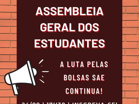 Assembleia Geral - Bolsas SAE #1