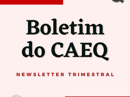 Lançamento - Boletim do CAEQ