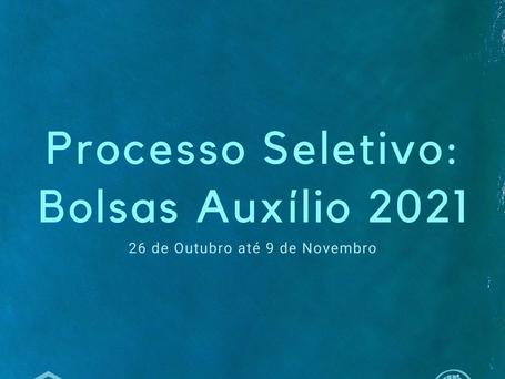 Processo Seletivo para Bolsas de Auxílio 2021