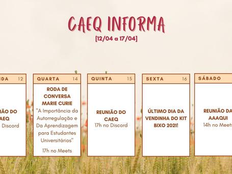 CAEQ Informa [12/04 – 17/04]