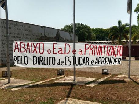 Ato nacional contra o ERE - Frente Unicamp Contra o EaD