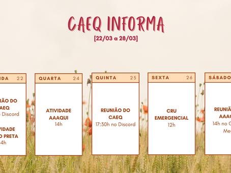 [22/03 – 28/03] CAEQ Informa