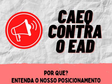 Reafirmação do Posicionamento do CAEQ sobre o EaD