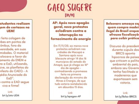 CAEQ Sugere - 21/11