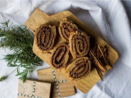 ROLLS de CANELA Veganos y sin Gluten