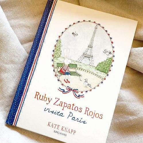 Libro Ruby Zapatos Rojos visita Paris